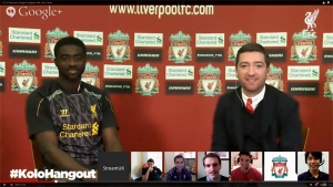 Liverpool FC Hangout On Air