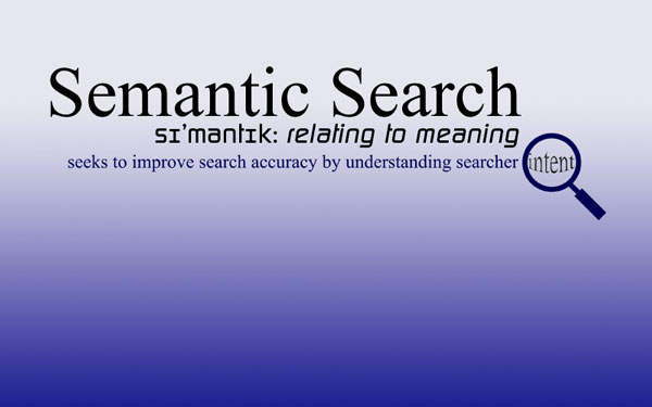 Semantic Search seeks to improve search accuracy by understanding searcher intent